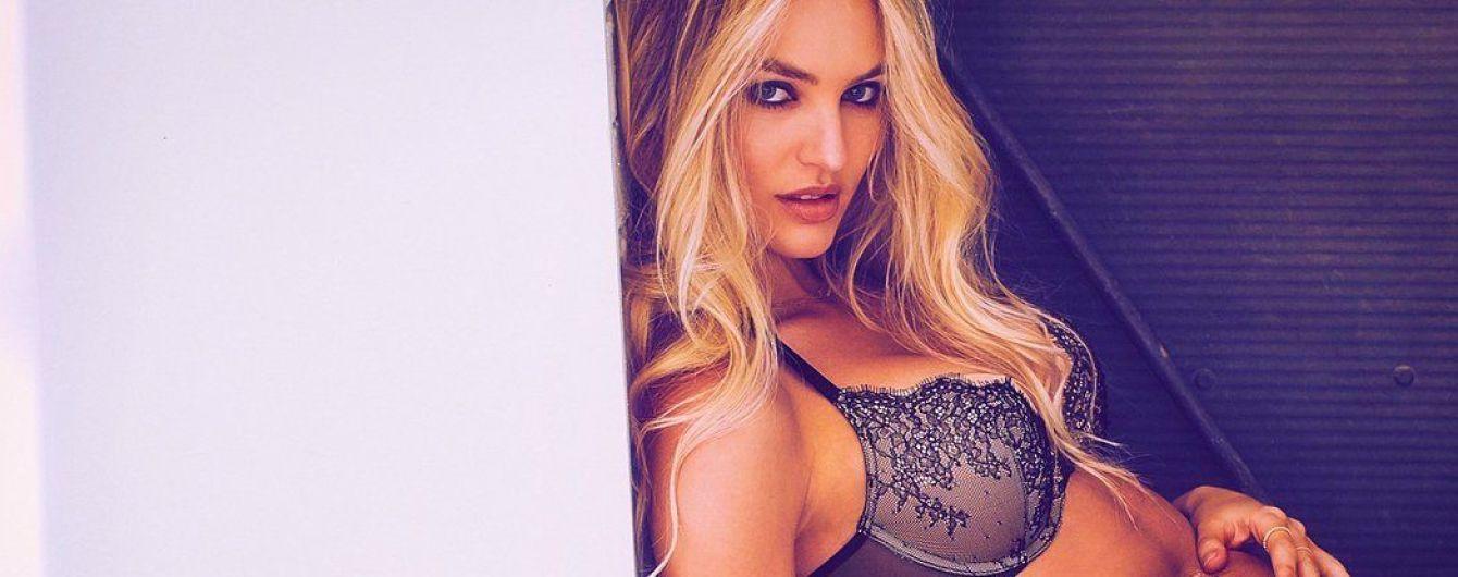 Роскошная Кэндис Свэйнпоул рекламирует бельевые новинки Victoria's Secret