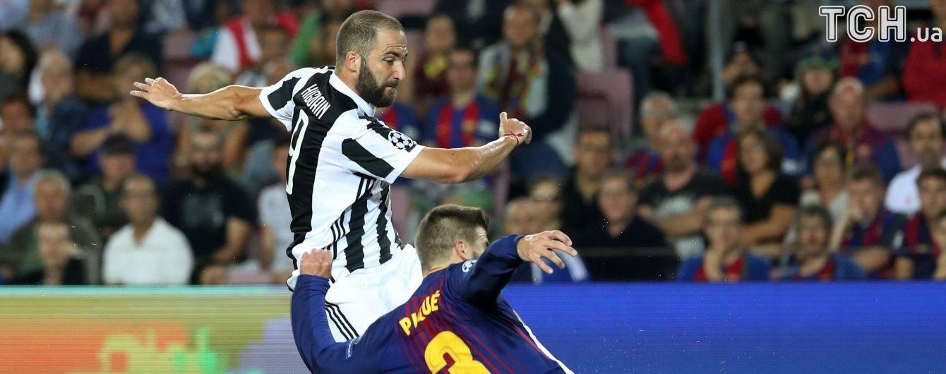 """Лидер """"Ювентуса"""" показал средний палец фанатам """"Барселоны"""" и может получить """"бан"""""""