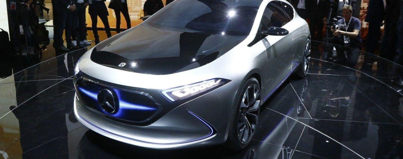 Mercedes-Benz представил прототип электрического хэтчбека A-Class