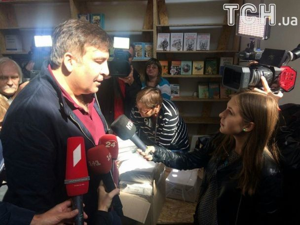 Саакашвили рассказал, где ночевал после исчезновения из отеля во Львове