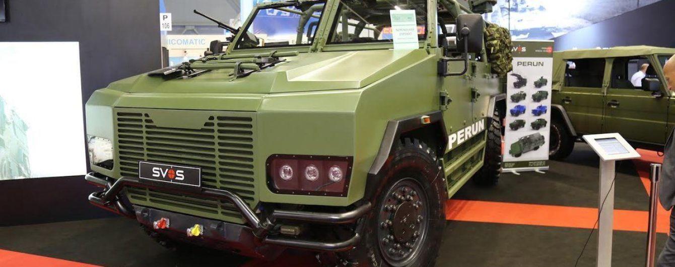 SVOS разработала новый легкий тактический бронеавтомобиль Perun