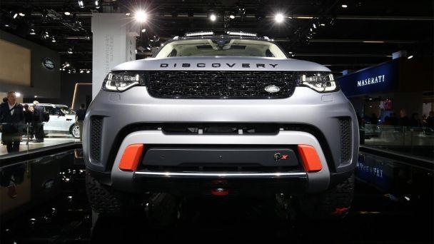 Land Rover представил самый экстремальный Discovery последнего поколения