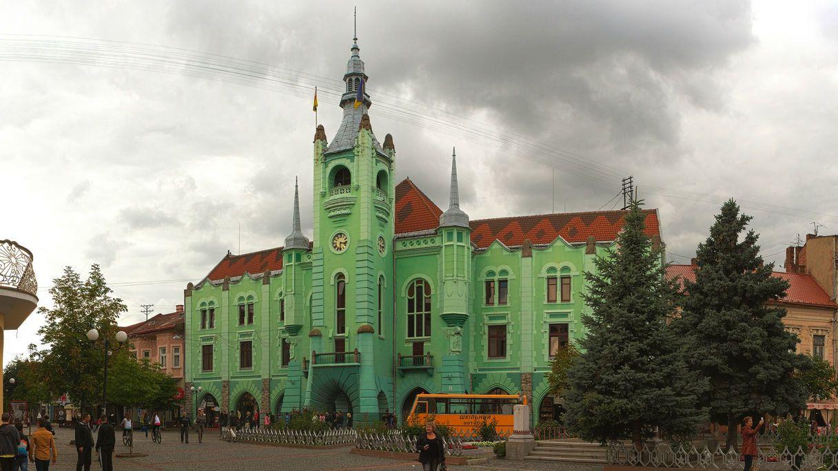 Ратуша міста Мукачево