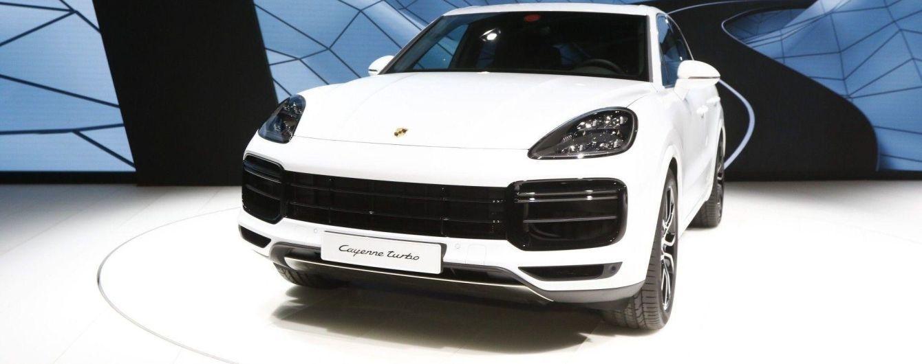Новый Porsche Cayenne Turbo получил 550-сильный четырехлитровый мотор