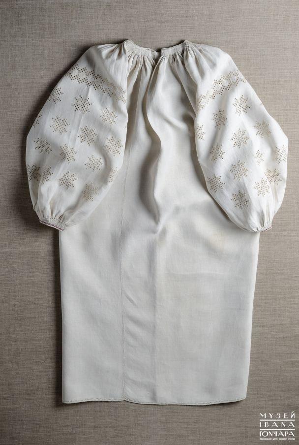Вишукані сорочки, вишиті біллю по білому