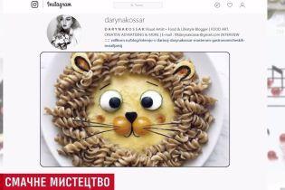 Малювання їжею: незвичні картини киянки здобули світову славу і продаються за великі гроші