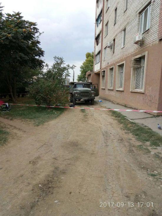 У Миколаєві вантажівка на смерть збила 6-річного хлопчика