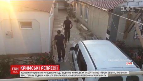 В оккупированном Крыму неизвестные ворвались в дом и похитили татарина