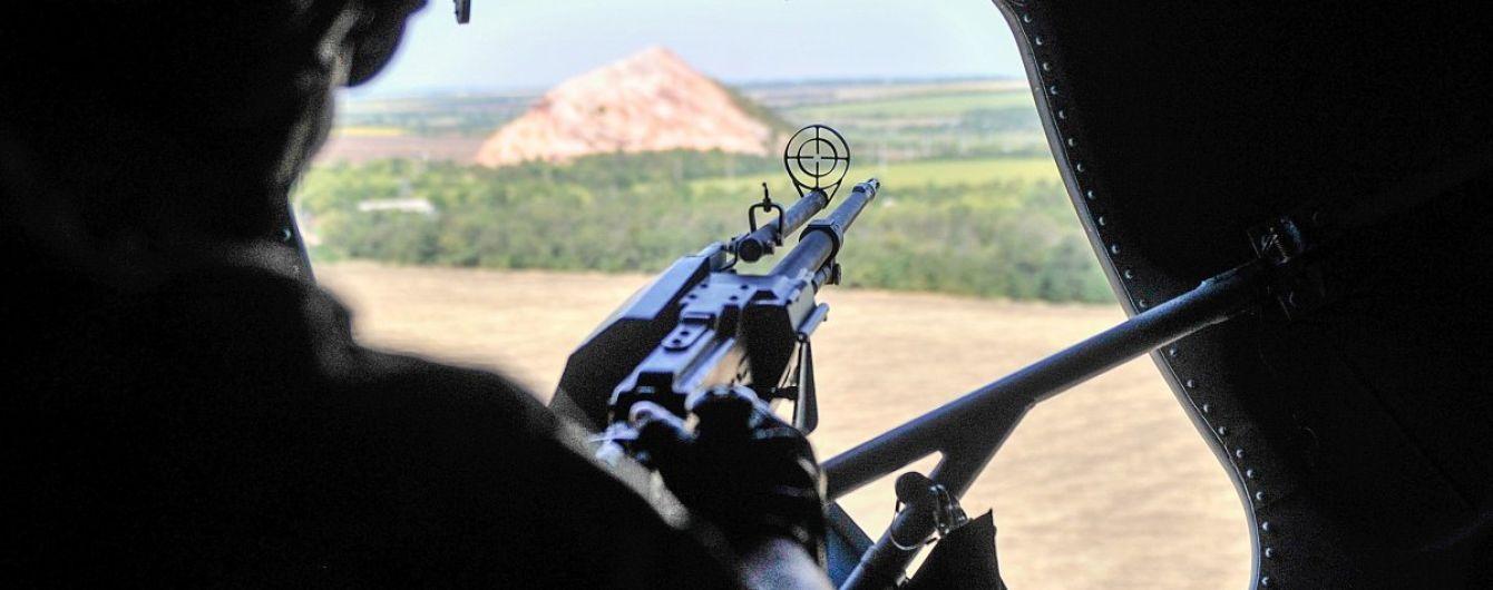 Боевики ранили военного возле Авдеевки