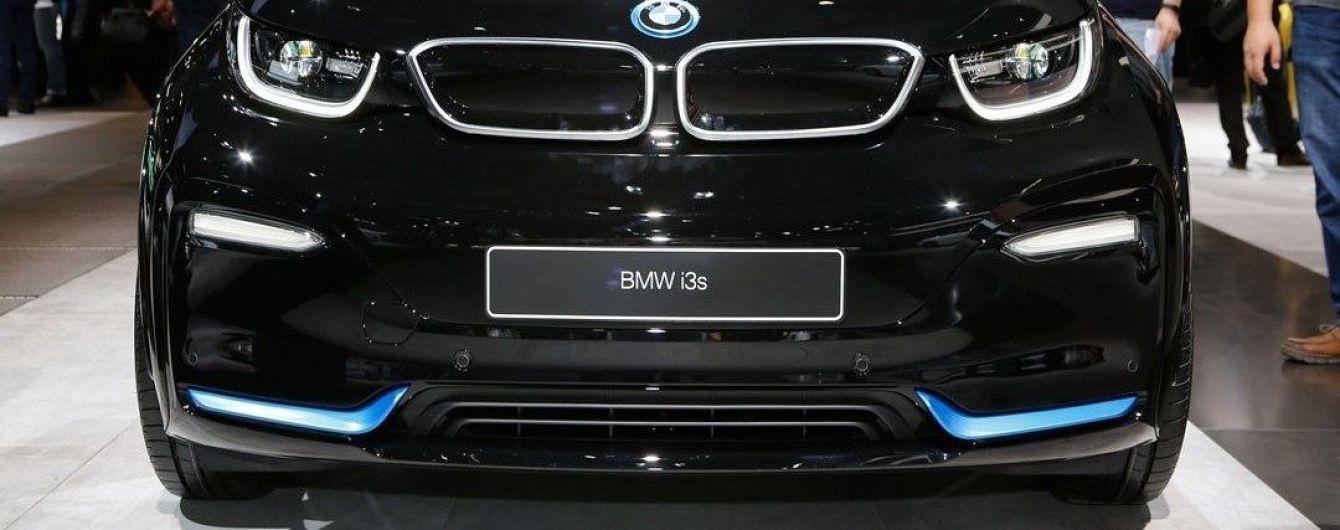 """Электрокар BMW i3 обзавелся """"спортивной"""" версией"""