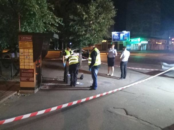 В Одессе мужчина взорвал гранату во время конфликта с другой компанией