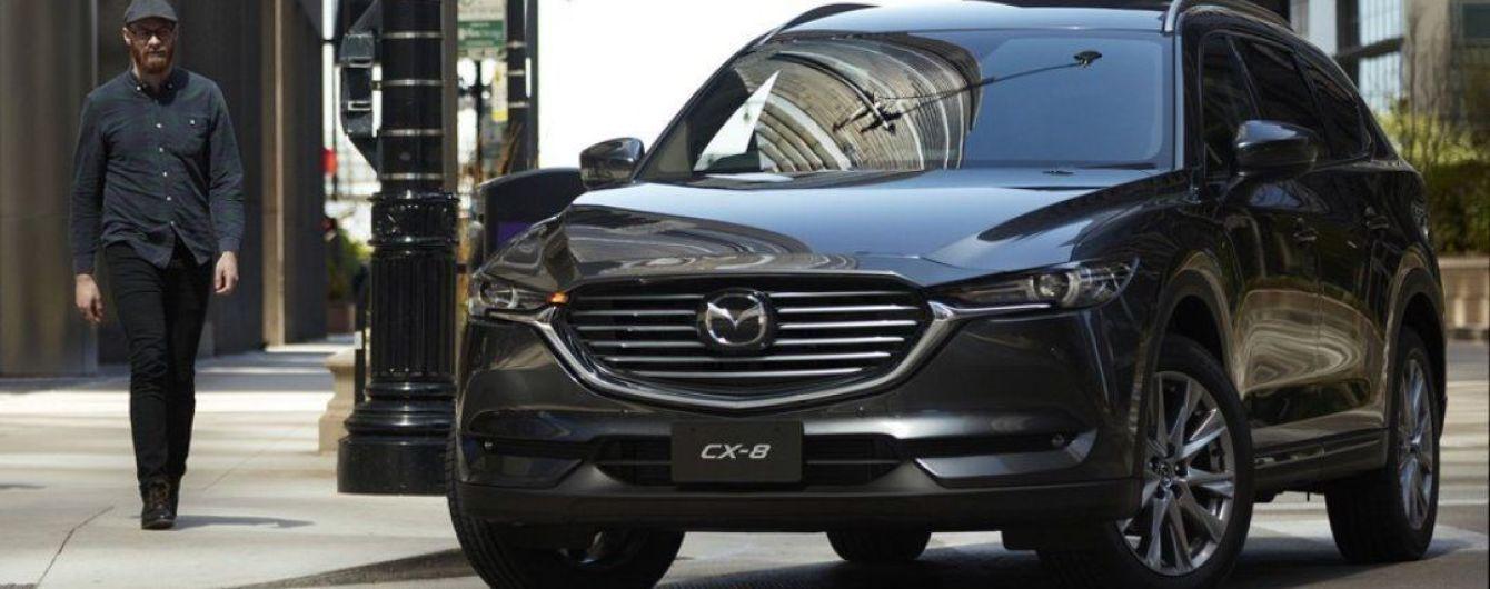 Японцы представили новый вседорожник Mazda CX-8