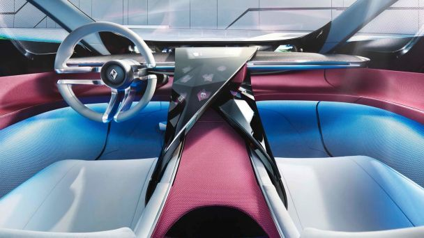 Borgward выкатил во Франкфурте концепт Isabella