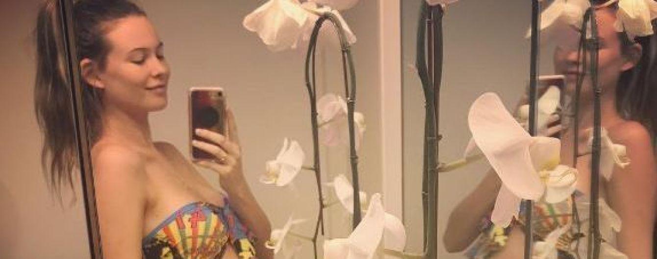 """""""Ангел"""" Victoria's Secret Бехати Принслу беременна вторым ребенком"""