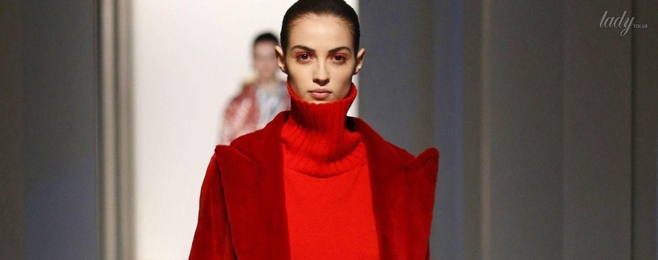 Выход в красном: тенденции моды сезона осень-зима 2017-2018
