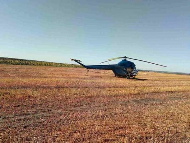 На Винниччине агроном погиб под винтом вертолета
