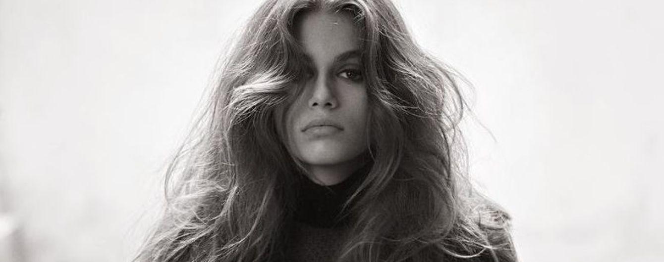 Это успех: 16-летняя Кайя Гербер украсила обложку американского Vogue