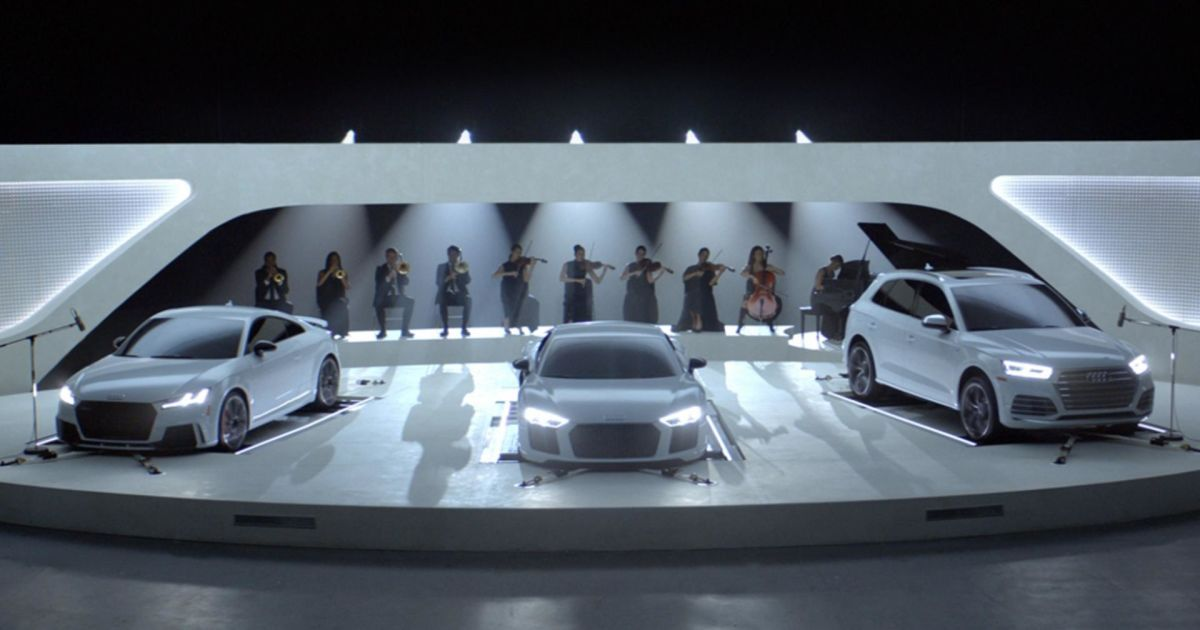 """""""Заряженные"""" модели Audi выступили в концертном зале"""
