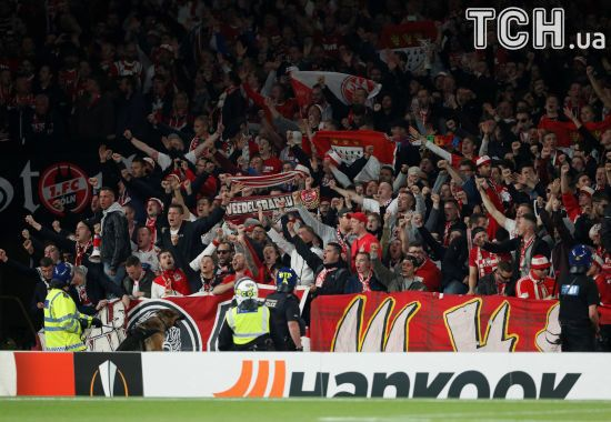 Німецькі фанати заблокували рух у деяких районах Лондона через свою кількість
