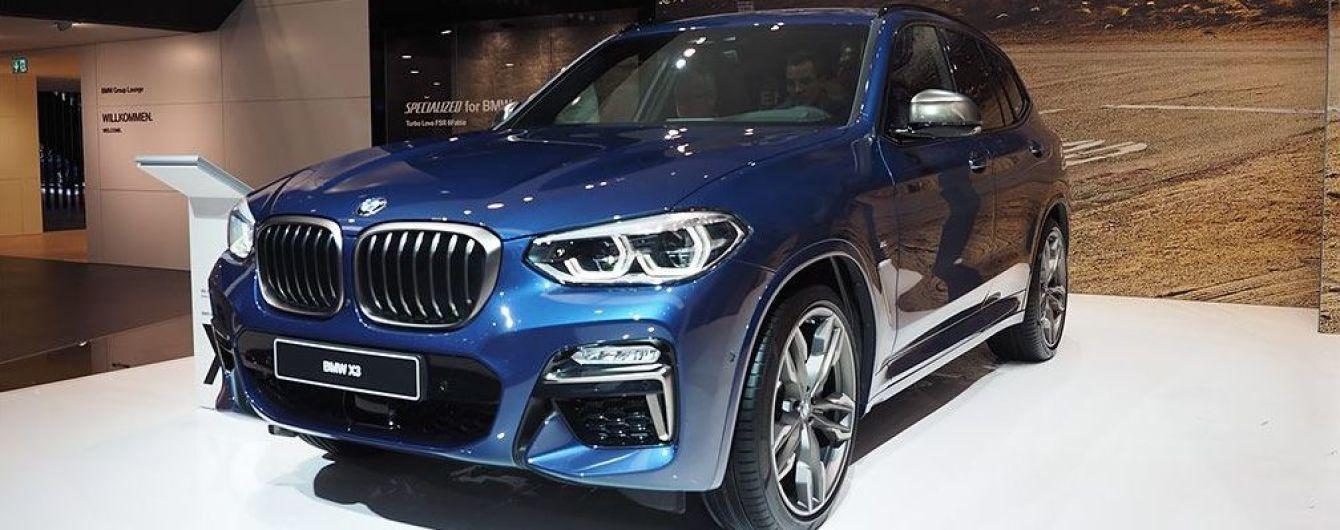 Во Франкфурте представили новый кроссовер BMW X3