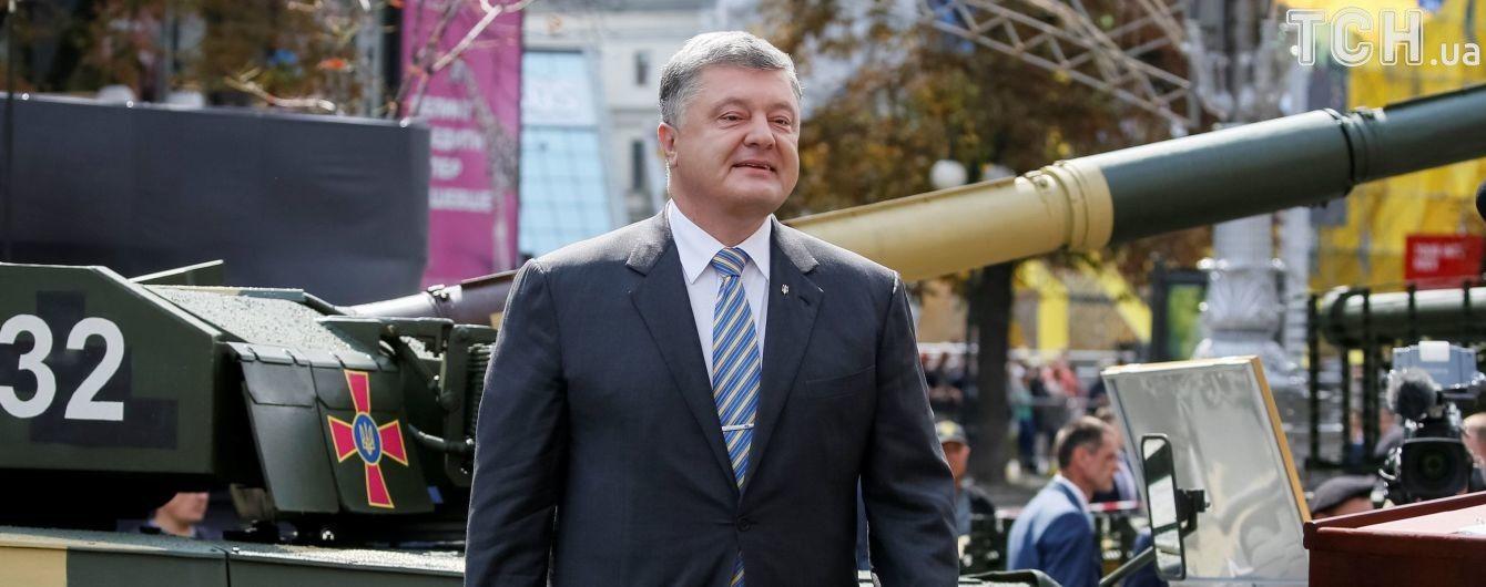 Порошенко пообіцяв рятувальникам підвищення зарплат на 1 тис. грн