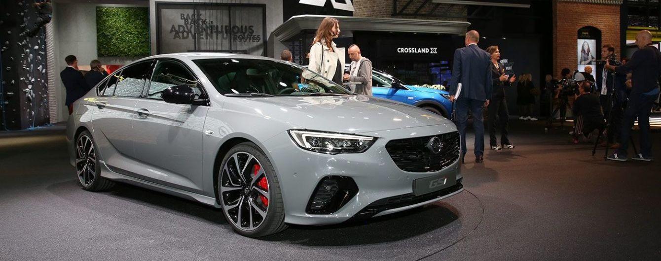 Во Франкфурт Opel привез спортивную версию Insignia