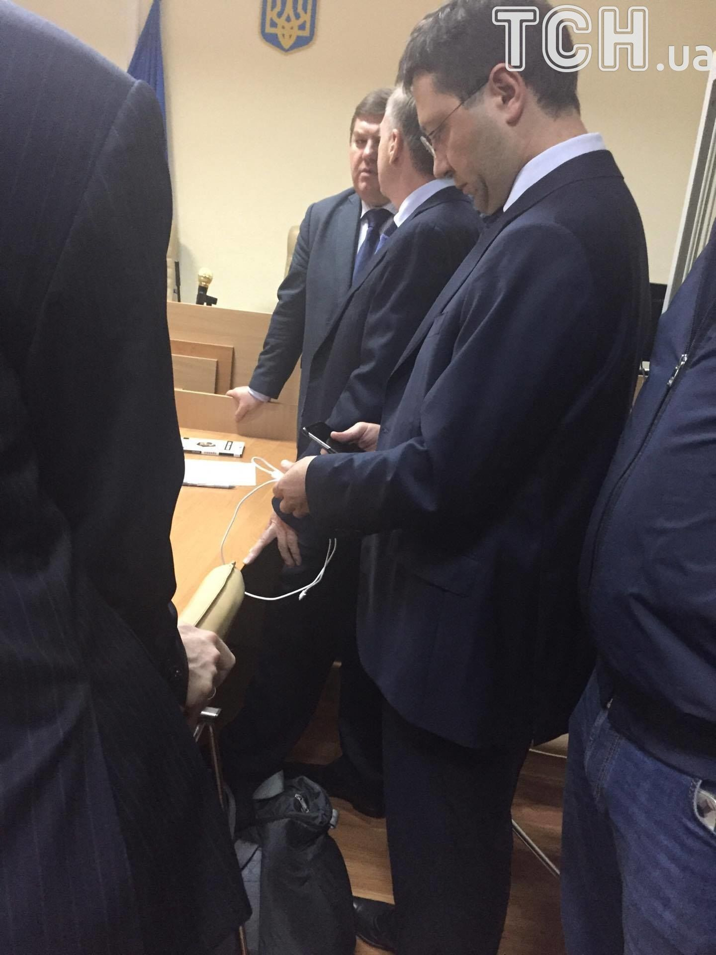 Лавринович на суді