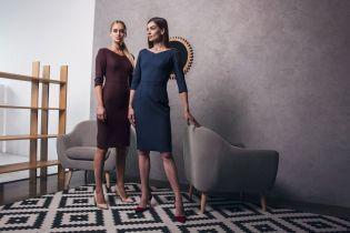 Деловые платья из шерсти в осенней коллекции бренда Letter K
