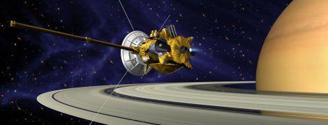 NASA завершило работу зонда Cassini на Сатурне