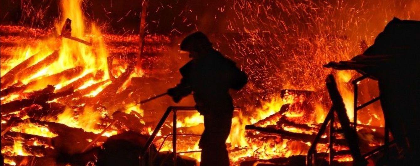 В полиции рассказали о проблемах при тушении пожара в детском лагере в Одессе