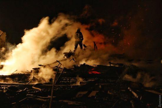 СМИ назвали возможную причину смертельного пожара в детском лагере в Одессе