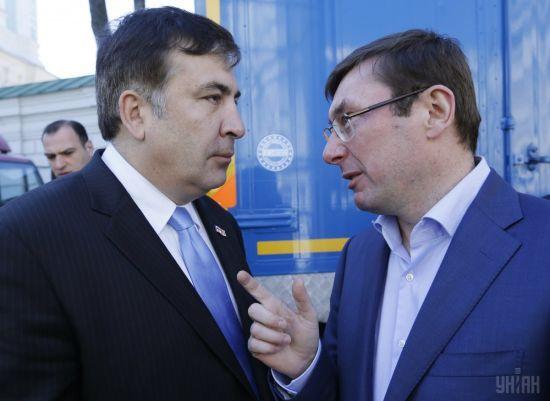 Луценко заверил, что Саакашвили не будут арестовывать из-за незаконного пересечения границы