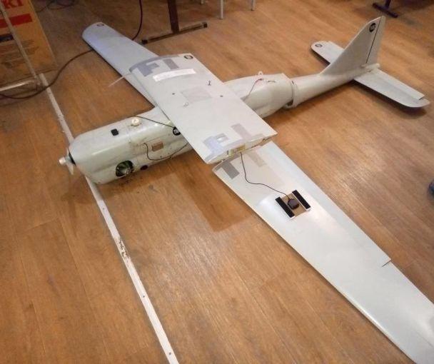 У зоні АТО впав російський безпілотник, який використовується для розвідки і  коректування вогню