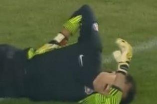 Чорногорського воротаря застрелили прямо під час тренування