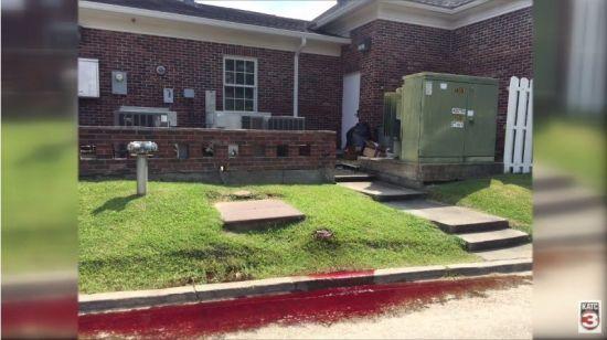 Вулицю в американському місті залило людською кров'ю з похоронного бюро