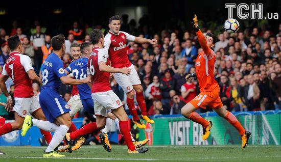 """Лондонське дербі: """"Челсі"""" та """"Арсенал"""" зіграли у бойову нічию"""