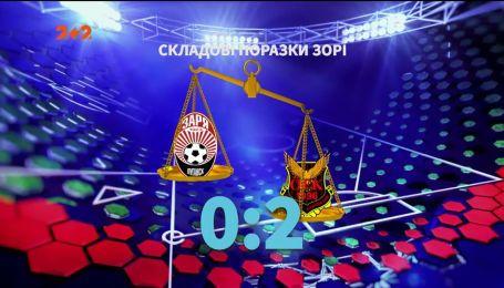 Зоря - Естерсунд - 0:2. Де шукати причини поразки луганської команди на старті єврокубків