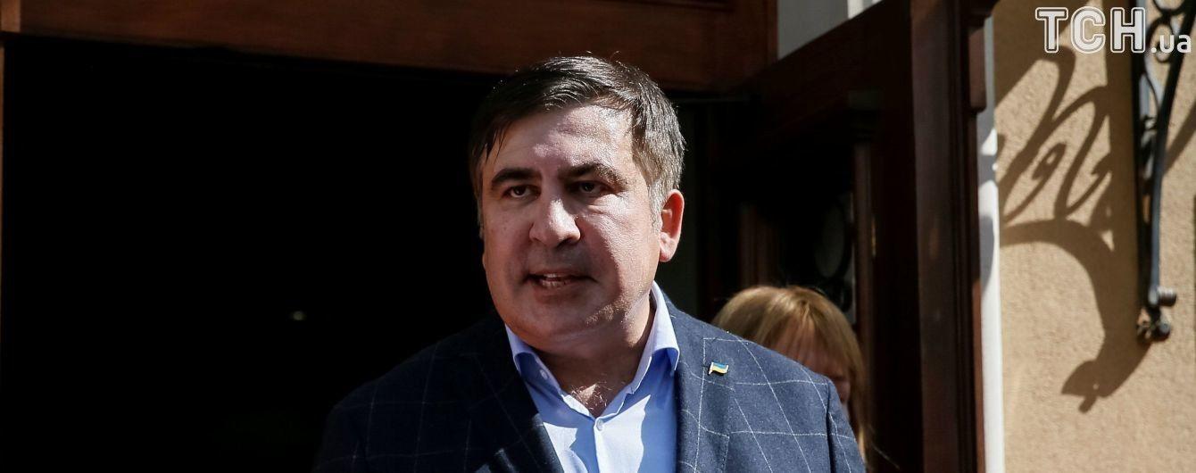 У поліції відповіли на звинувачення Саакашвілі щодо викрадення паспорта