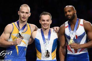Українські гімнасти тріумфували на Кубку світу в Парижі