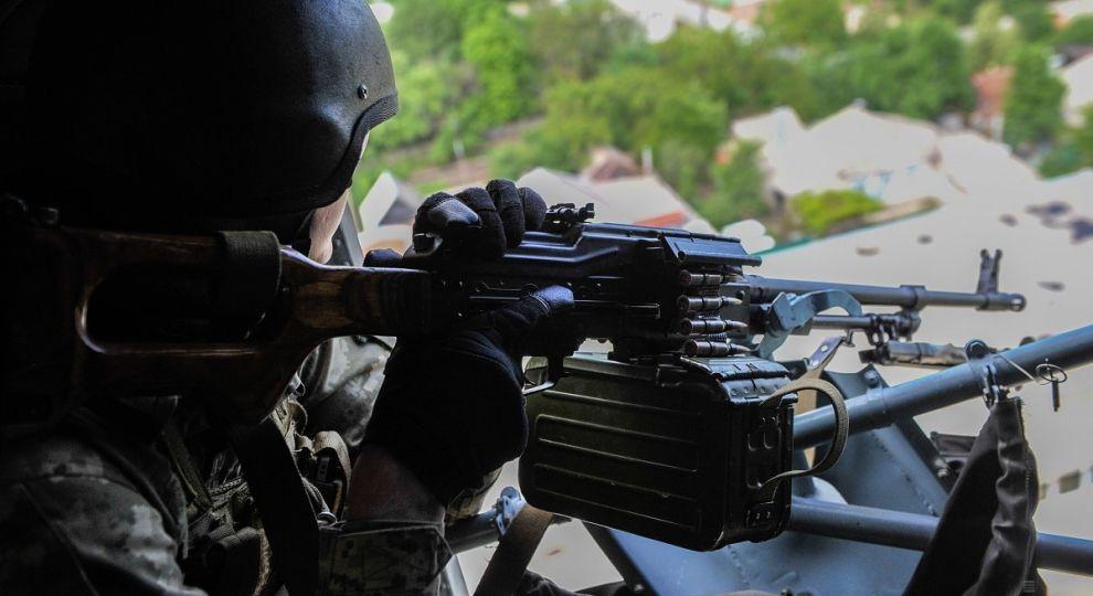 На Донеччині внаслідок обстрілу бойовиків отримав поранення український військовий