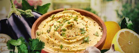 Баба гануш: арабская закуска из баклажанов