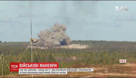 Российские пилоты проигнорировали воздушные границы и ворвались в пространство Литвы