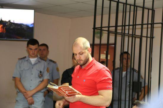 """Суд продовжив запобіжний захід у вигляді арешту фігуранту """"справи 2 травня"""" Долженкову"""