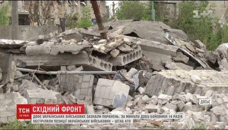 На фронті 2 українських воїнів отримали поранення