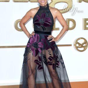 Выглядит великолепно: 51-летняя Холли Берри в прозрачном платье продемонстрировала упругие ягодицы