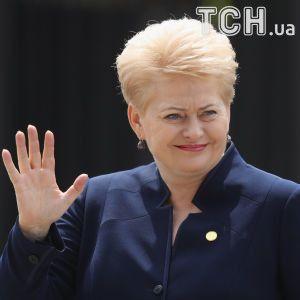 Грибаускайте: РФ делает в Украине не менее ужасные вещи, чем в Сирии