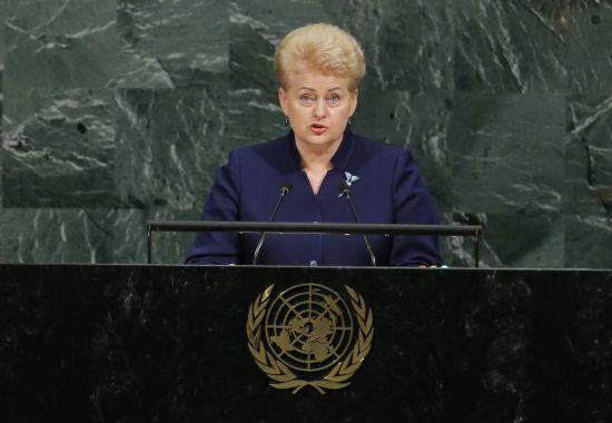 Російська делегація залишила зал Генасамблеї ООН перед промовою Грібаускайте