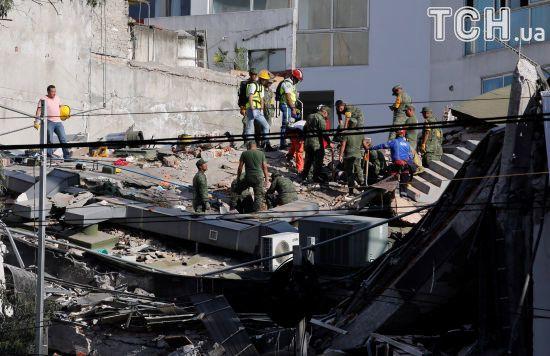 Майже 140 осіб стали жертвами землетрусу в Мексиці