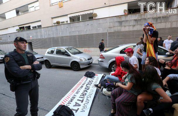 Референдум вКаталонії: стало відомо про затримання сепаратистів