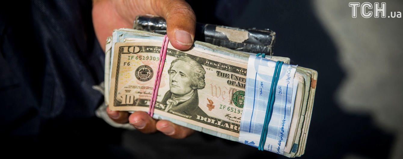 Долар і євро знову здешевшали в курсах Нацбанку на 9 серпня. Інфографіка